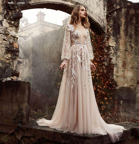 Abiti Cerimonia Eleganti.Abito Lungo Elegante Per Cerimonia Enchanting Land