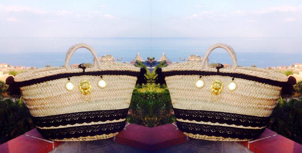 borse siciliane paglia
