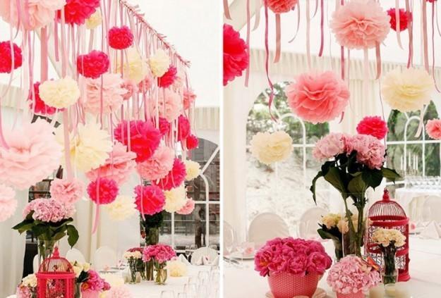 decorazioni-con-pon-pon-e-fiori