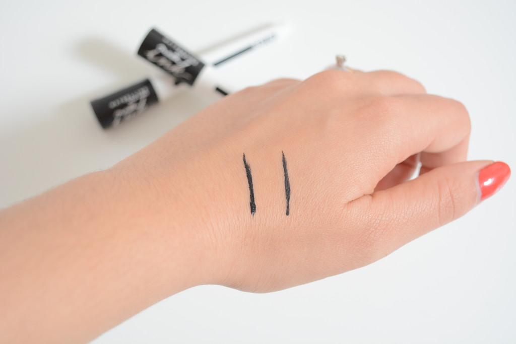 Maybelline Master Ink Eyeliner - swatch