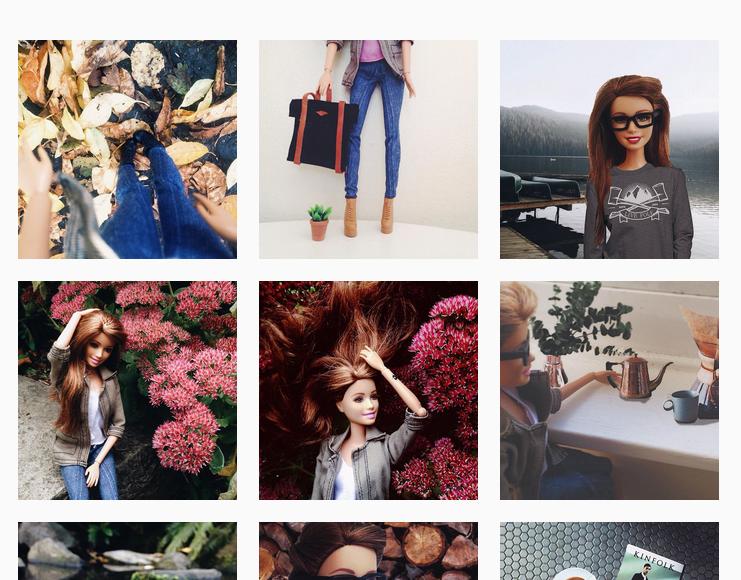 socality barbie instagram