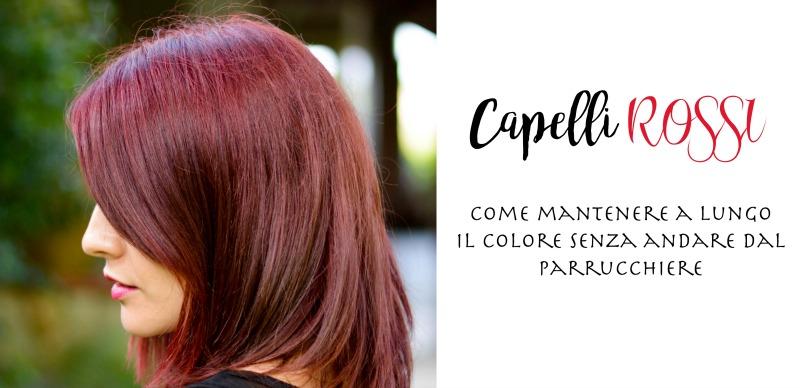 Come ravvivare il colore rosso dei capelli