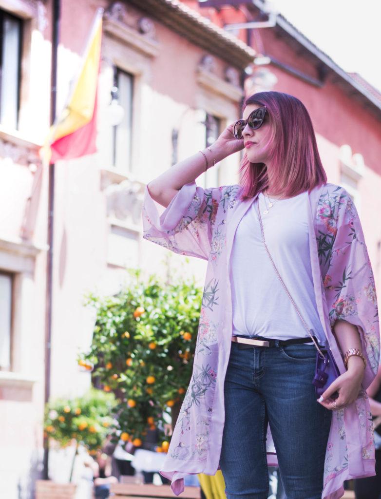 come indossare il Kimono