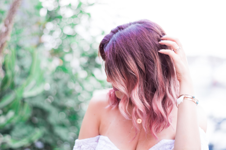 Bagno Lilla E Rosa : Capelli rosa come farli e come mantenerli