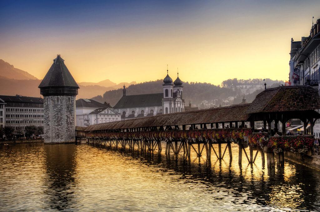 San Valentino in Svizzera, cosa fare a Lucerna