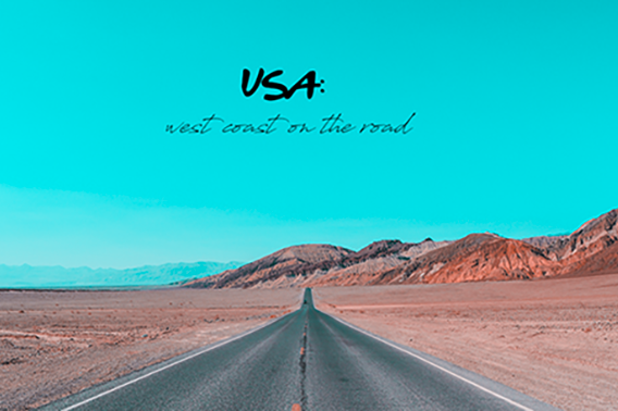 USA on the road
