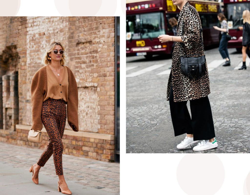 look animalier- casual chic