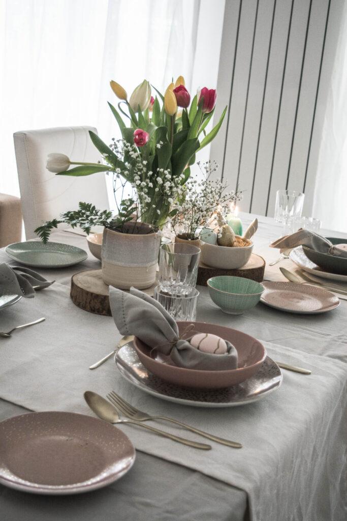 tavola di pasqua, idee per decorarla- enchanting land.it