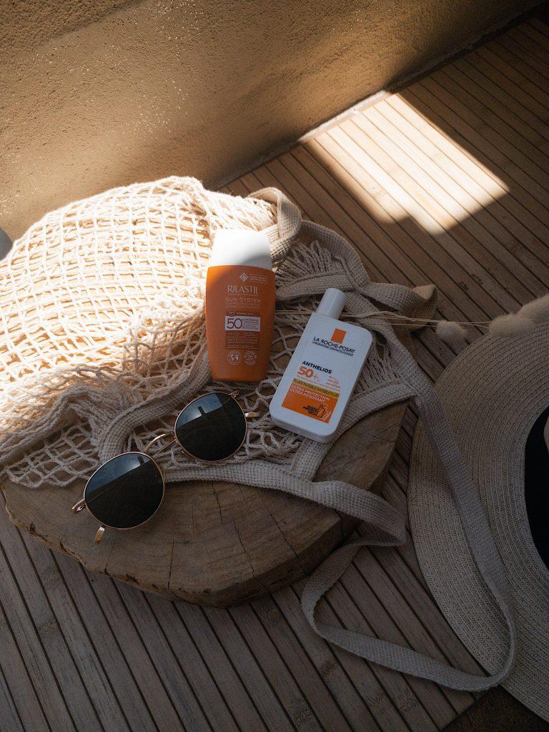 skincare estiva, protezione solare